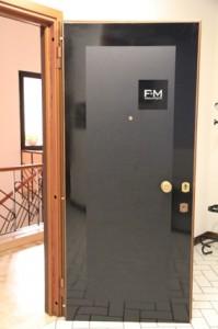 questa è la porta d'ingresso, non male vero?