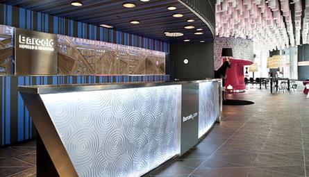 Nuova architettura contemporanea a barcellona hotel for Architettura contemporanea barcellona